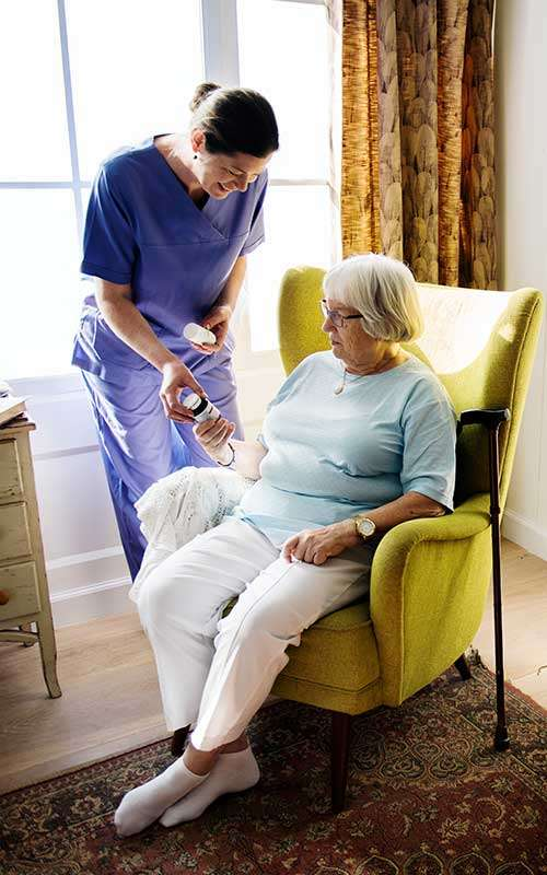 Interventional Services by the Nurse at Home;