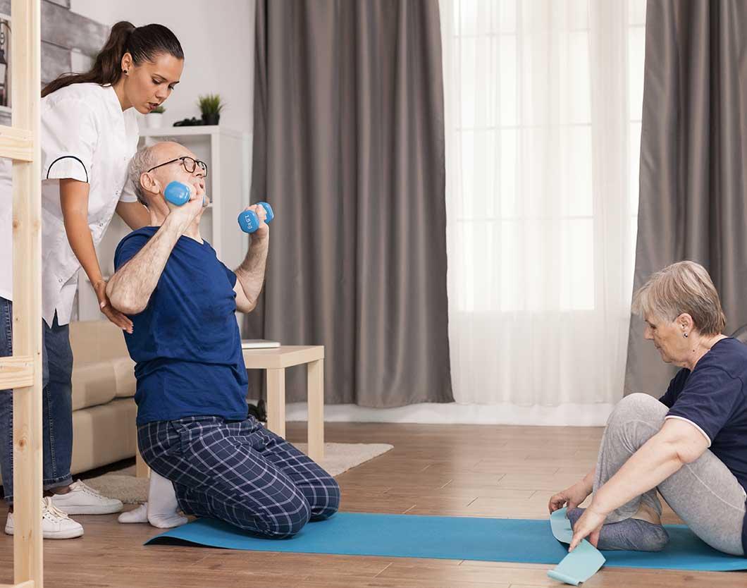 evde fizik tedavi